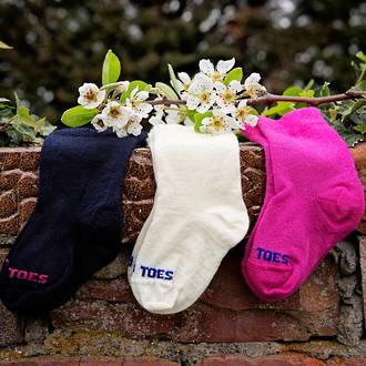 Long Baby Socks - Plain Colours