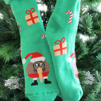 New Zealand Christmas Socks