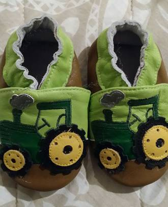 JD Leather Baby Shoes 6-12 M