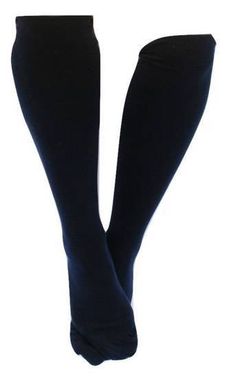 Knee High Merino Socks - plain colours