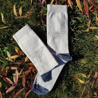 Queen Bee Merino Socks