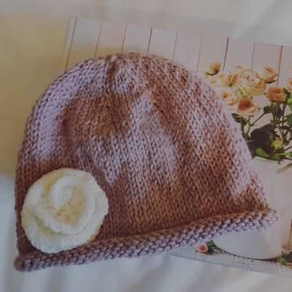 Soft Merino Alpaca Baby Hat