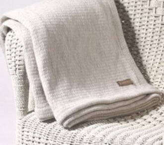 Thermacell Wool Blanket With Woven Edge for a King Single Bed