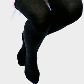 Over The Knee Socks for School - cotton. Pack of 3.
