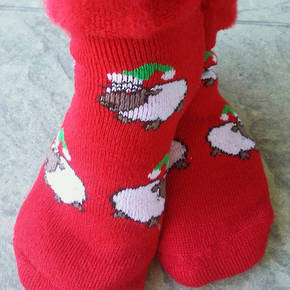 New Zealand Christmas Socks - Sheep