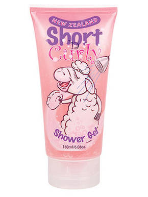 Short n Curly Shower Gel