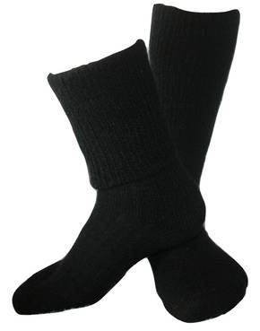 Merino / Alpaca / Possum Blend Comfort Top Socks