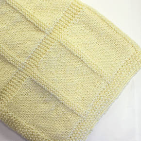 Knit a Wool Baby Blanket Kit