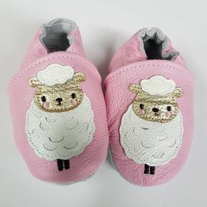Sheep Leather Baby Shoes