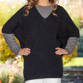 Possum Merino Women's Sleeved Cape
