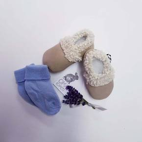 Baby  Lambs Wool Booties