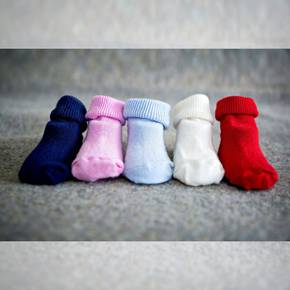Merino Baby Sock - Ankle. pack of 3