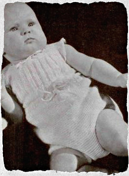 vintage wool baby clothes