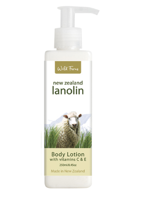 Cosy Toes Lanolin Body Lotion
