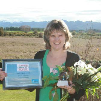 Enterprising rural womens award NZ Cosy Toes