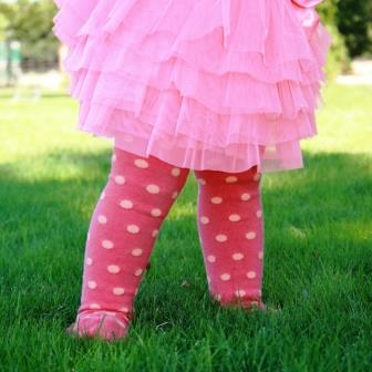 Tights-baby-cosy-toes-cotton polka dot