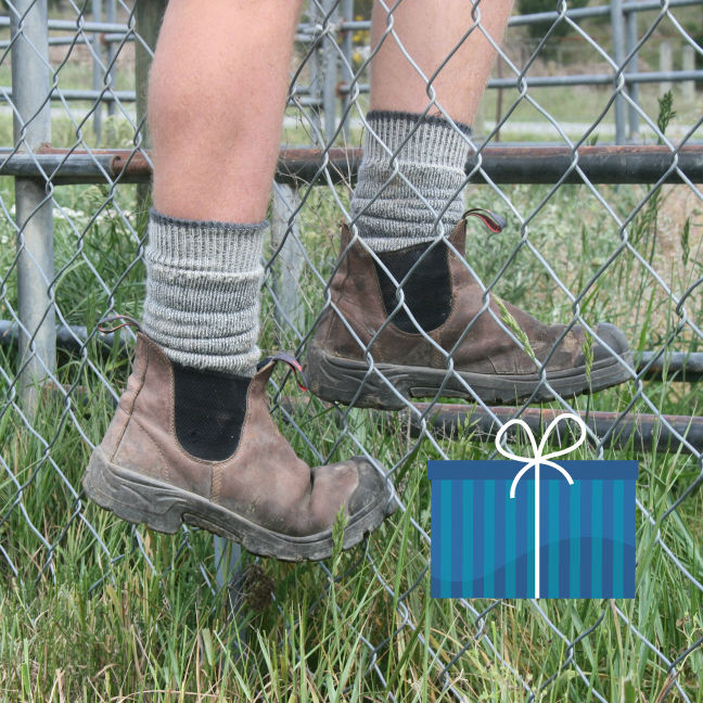 merino wool socks work tough cosy toes christmas gift idea