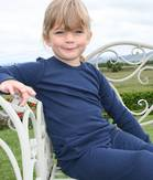 Kids Merino Long Sleeve Top