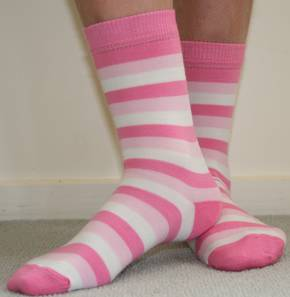 Merino Stripe Socks. pack of 2